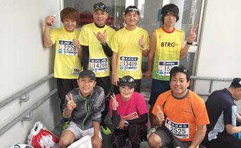 仲村さんが所属するマラソンチーム
