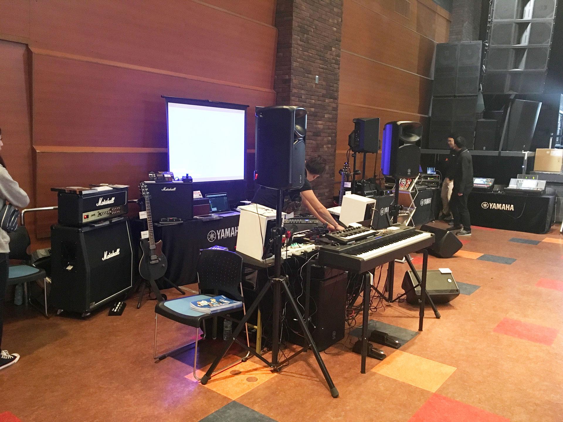 2017沖縄放送・舞台・総合機器展(会場写真)